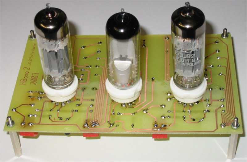 Fotos Single Ended Röhrenverstärker